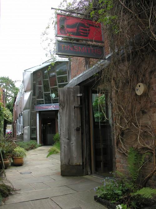 Tinsmiths showroom and original tinsmiths workshop