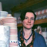 phoebe clive textile specialist and partner at tinsmiths