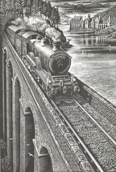 Hogwart's Express by Andrew Davidson