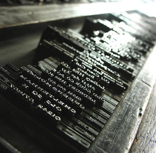 What do Printer's do all Day? January Calendar Post
