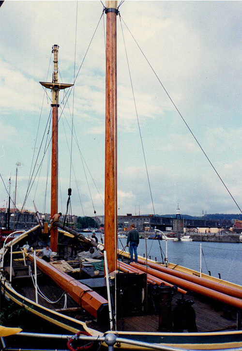 Schooner Restored in Bristol