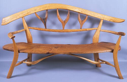 Freeform Bench by Gudrun Leitz