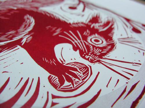 Win a Framed Squirrel by Mark Hearld