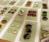 Slipware Buttons by Patia Davis