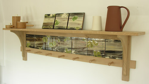 Tile shelf