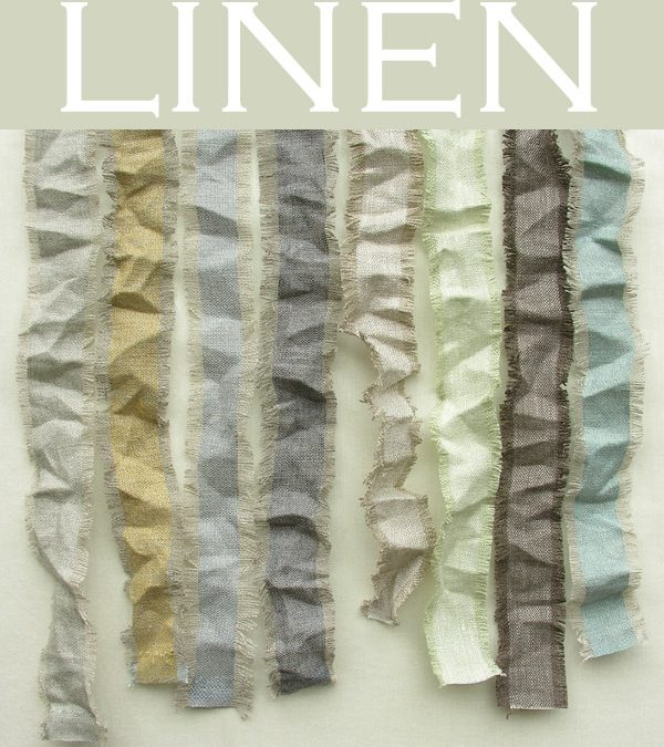 Linen for curtains & blinds