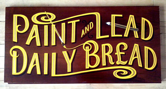 Daily Bread Sign