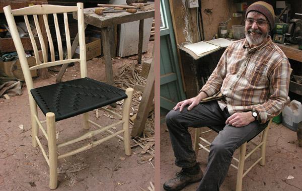 Settin Chair and Portrait