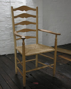 Lawrence Neal's Gimson Fireside Chair