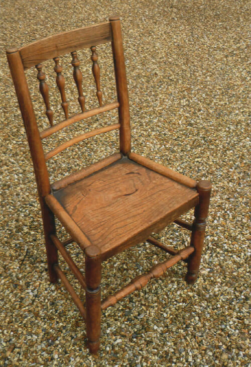 Simple Country Chair by Philip Clissett
