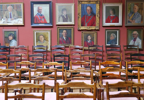 Chairs at the Artworkers Guild