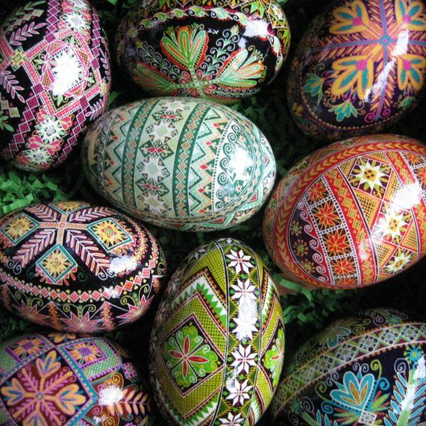 Ukrainian Pysanky Eggs – tightening the chains……