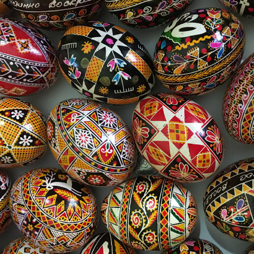 Psanky Decorated Eggs