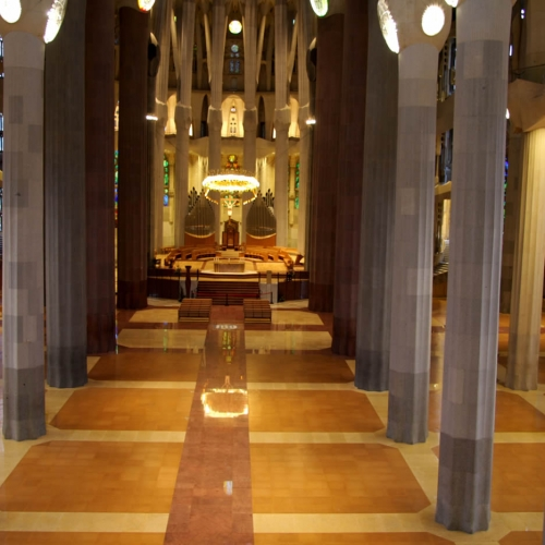 sagrada Familia Cork Floor