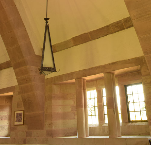 Windows and Light Fittings, South Side, All Saints Brockhampton