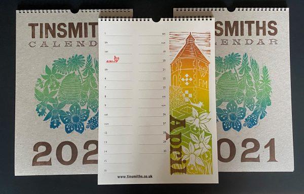 Tinsmiths Calendar 2021