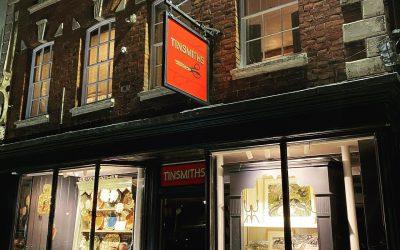 Tinsmiths Reopening, December 2020