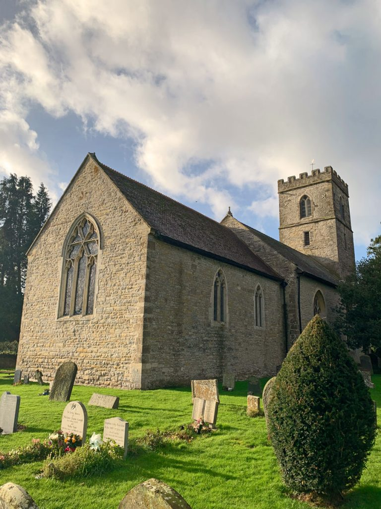 Hartpury Church Gloucestershire, Tinsmiths Ledburyshire Calendar 2021