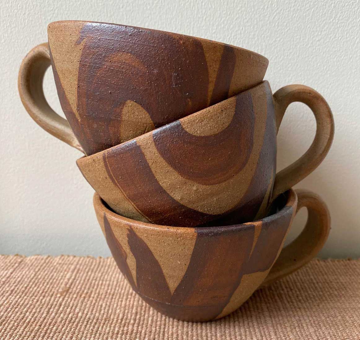 Jack Welbourne Pottery Cups Tinsmiths