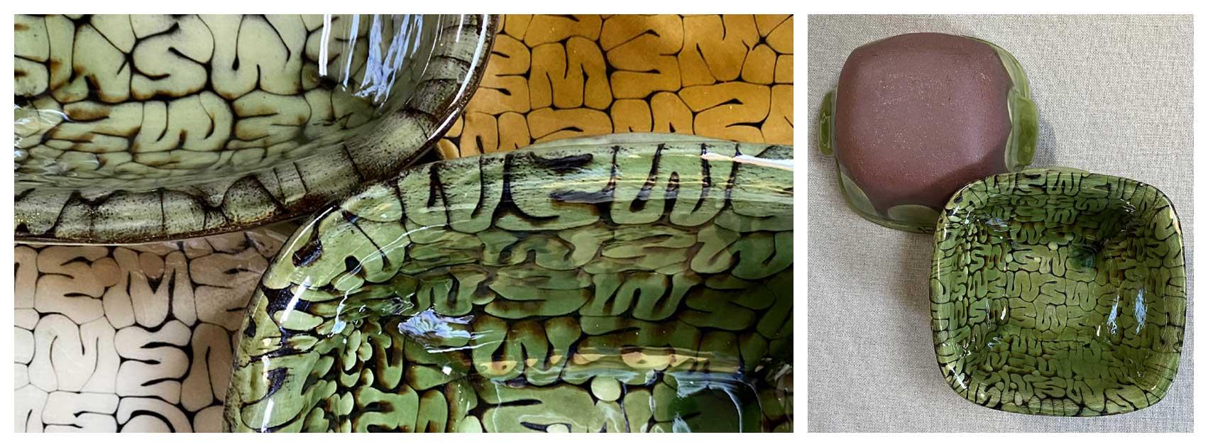 Patia Davis Pottery Dishes Tinsmiths