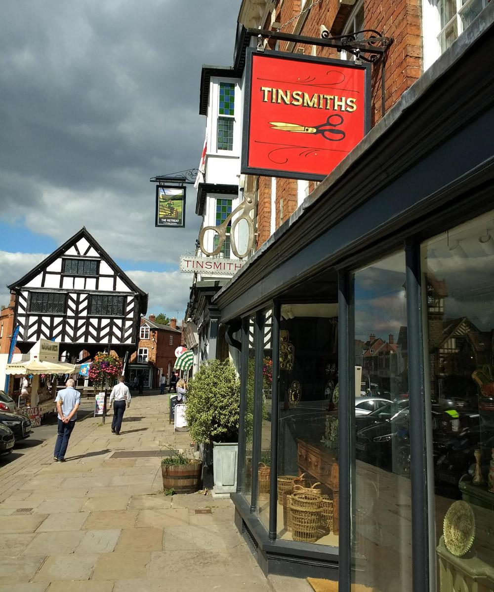 Tinsmiths Shop High Street Ledbury