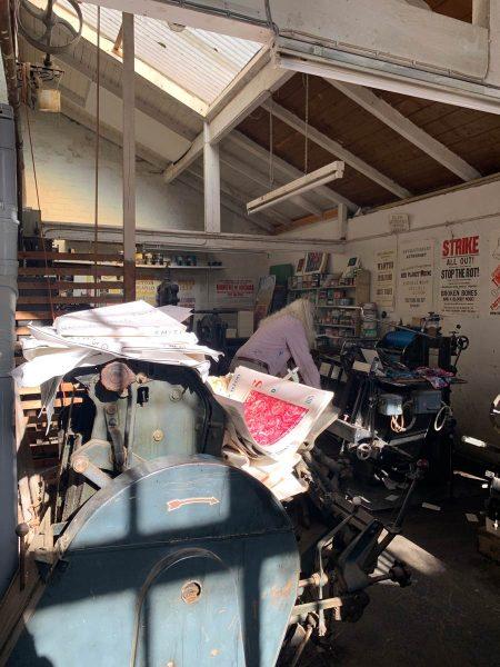 Martin Clark Tilley Printing Ledbury Heidelberg Letterpress